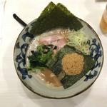 八の坊 - 料理写真: 豚そば和風(太麺こってり) 850円