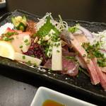 ふく・長州料理 KATSUMOTO - くじら刺し盛り