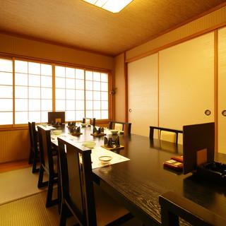 ◇接待・会食に◇完全個室・季節のご馳走を楽しむプラン充実。