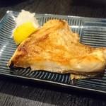 魚の納屋 - かんぱち カマ 塩焼き