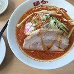 麺処 にっ田屋 - 冷やしらーめん(坦々麺)