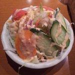 シャリマール - 無条件で付くサラダ