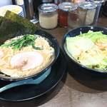 町田商店 - ラーメン+もやキャべ