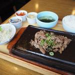 サムギョプサルと野菜 いふう - 牛プルコギ定食