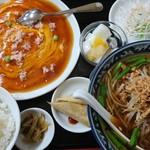台湾料理 福興楼  - 料理写真:カニ玉子定食 980円