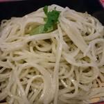 新宿 そば蔵 - 青しそ蕎麦