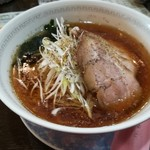 中国料理 四川彩館 - 冷やしネギ叉焼麺 (1080円)