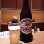 喜想庵 ささ木 - キリンビール中瓶