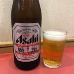 来来 - 瓶ビール550円