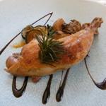 レストラン ミュゼ - 鶏もも肉のコンフィ