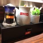 函館市場 - 料理写真:醤油は一種類