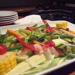 9109320 - 絶品足柄野菜のサラダ!