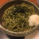 北新地 みち田 - 茶蕎麦
