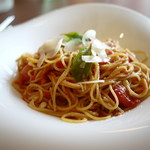 Restaurant Potager - 3種のトマトとパルミジャーノ