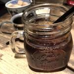 Cafe 婆沙羅 - どこかレトロなアイスコーヒーも付いてくる