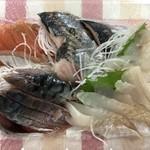 発寒かねしげ鮮魚店 - 刺身バイキング