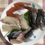 発寒かねしげ鮮魚店 - 刺身