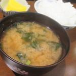 とり日和 - 味噌汁
