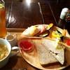 カフェ バウムクローネン - 料理写真:トーストセット¥500