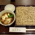 Asanoya - 名物 鴨つくねせいろ蕎麦