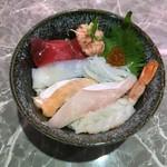 寿司バル たから船 - 料理写真:海鮮丼(酢飯)