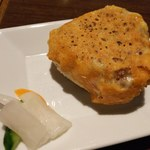 笹島大陸 - チーズおにぎり