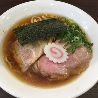 麺や 河野 - 料理写真:醤油ら〜めん(780円)