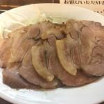 東京担々麺  ゴマ哲 - おつまみネギチャーシュー
