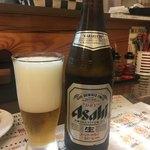 東京担々麺  ゴマ哲 - 瓶ビール