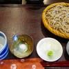 石臼びき手打そば 悠庵 - 料理写真:最初は十割蕎麦
