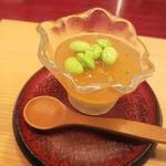 天現寺小野 - 雲丹の冷製茶わん蒸し 鱧ソース