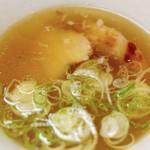 91111099 - 塩つけ麺のスープ