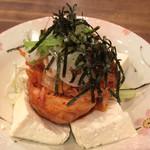 づめかん - キムチ奴¥200。 これ単純だけど美味し。さっそく家で真似します!