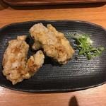 ジャパニーズまぜ麺 マルタ - あつあつカリカリジューシーな唐揚げ 130円/1個×2個