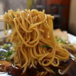中華そばマルキ商店 - 麺