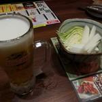 91114318 - ビール+お通し