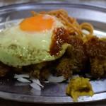 フクノヤ - ロースとんかつ(単品)に目玉焼き