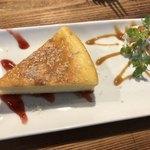CAFEオヤジ - チーズケーキ 450円