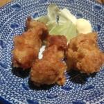 ちゃんぽん亭総本家 - セットの鶏の唐揚げです。