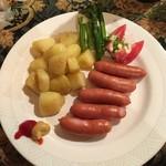 ロビンソン - 料理写真:ポテトソーセージ