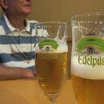 鳥長 - 生ビール