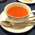 レストラン ストックホルム - スペシャルランチ(1260円)の紅茶