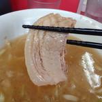 ラーメン二郎 - 神豚完食!