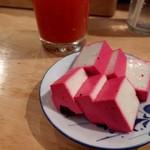 もつ焼きウッチャン - 酢豆腐はマストバイ!見つけたら食せよ乙女♡