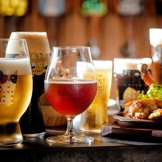 軽井沢直送樽生クラフトビール♪期間限定ビールもご用意!