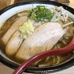 拉麺 大公 - 焼き味噌3枚焼豚(大盛)1070円