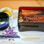 炭焼うなぎ 加茂 - ■鰻重 上 3800円