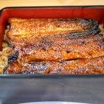 炭焼うなぎ 加茂 - 料理写真:鰻一尾分