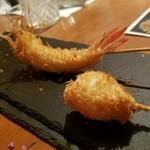 ステラ - 天使の海老と半熟ウズラの卵