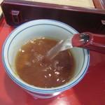 はし - 蕎麦湯は自然体